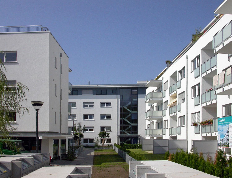 Burghof Nordend Frankfurt