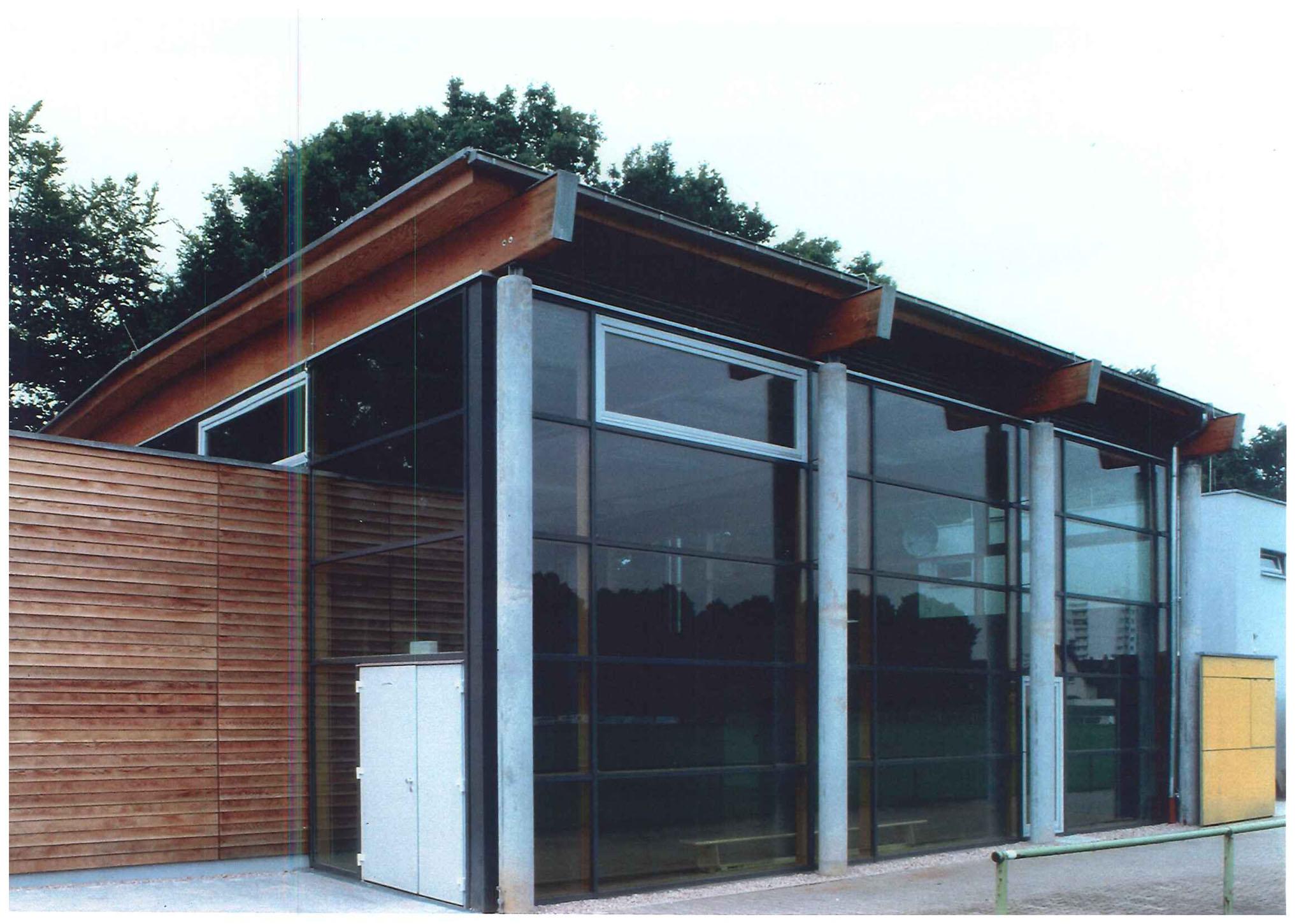 """Vereinssporthalle mit Gaststätte und Vereinsheim """"Am Buchenbusch"""""""