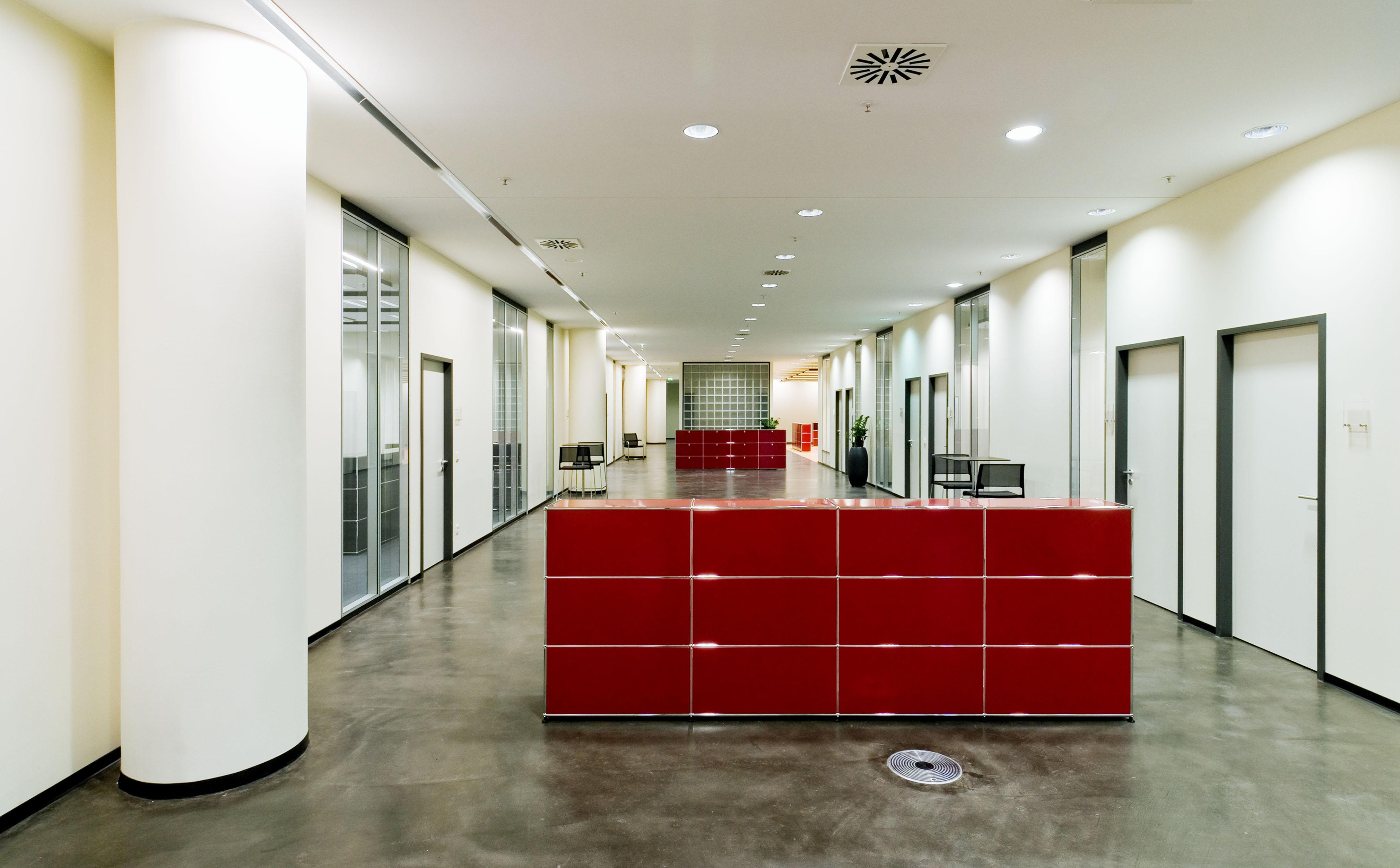 Mieterausbau, Büro- und Geschäftshaus Mainz am Brand