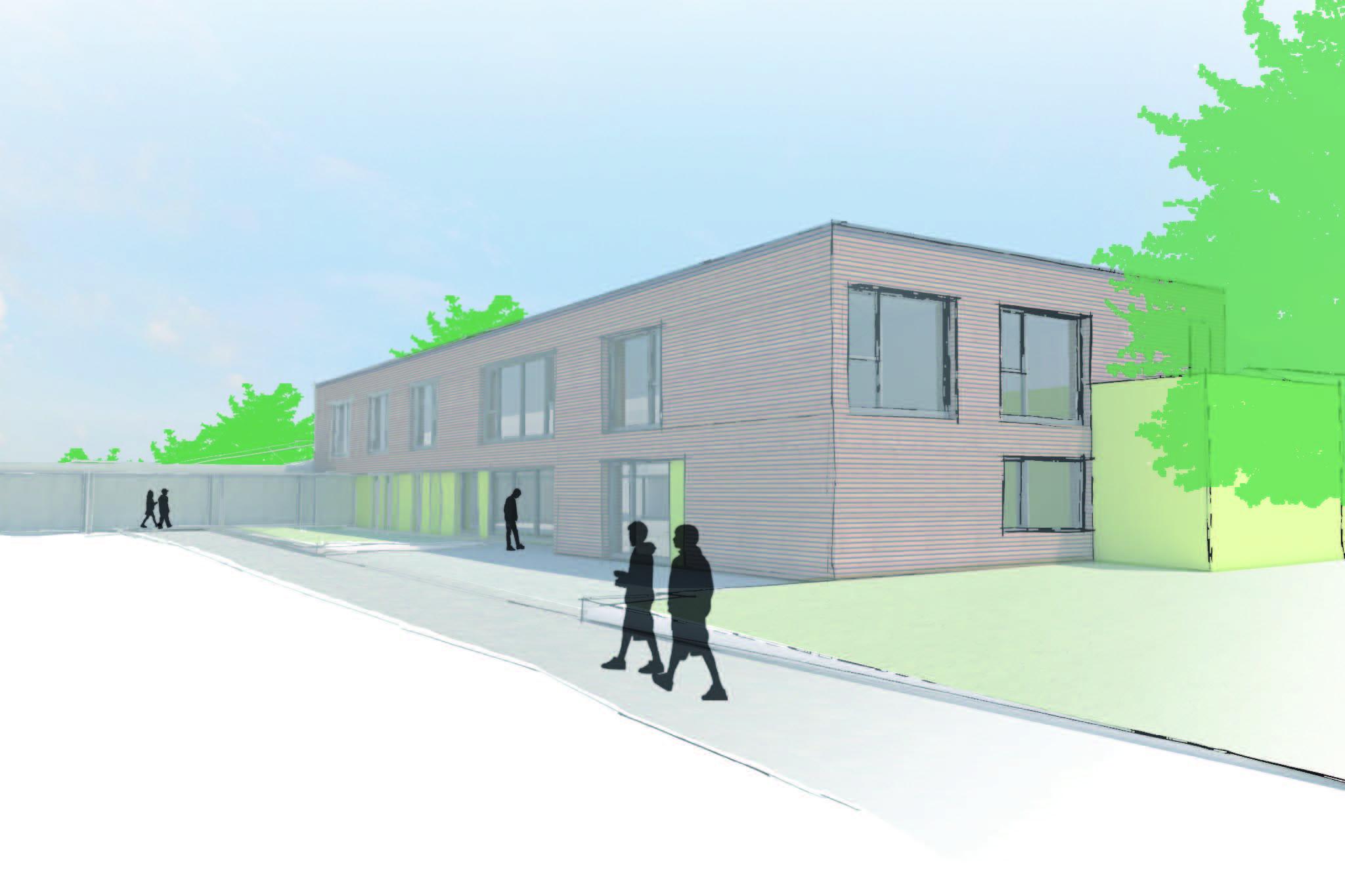 Neubau Kinderhort Haibach