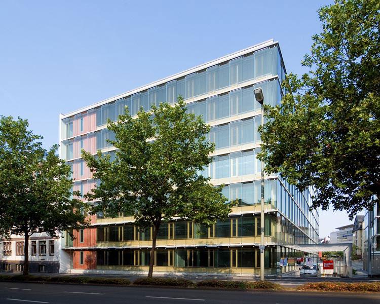 FHC – Fachhochschule Frankfurt am Main, Campusbebauung