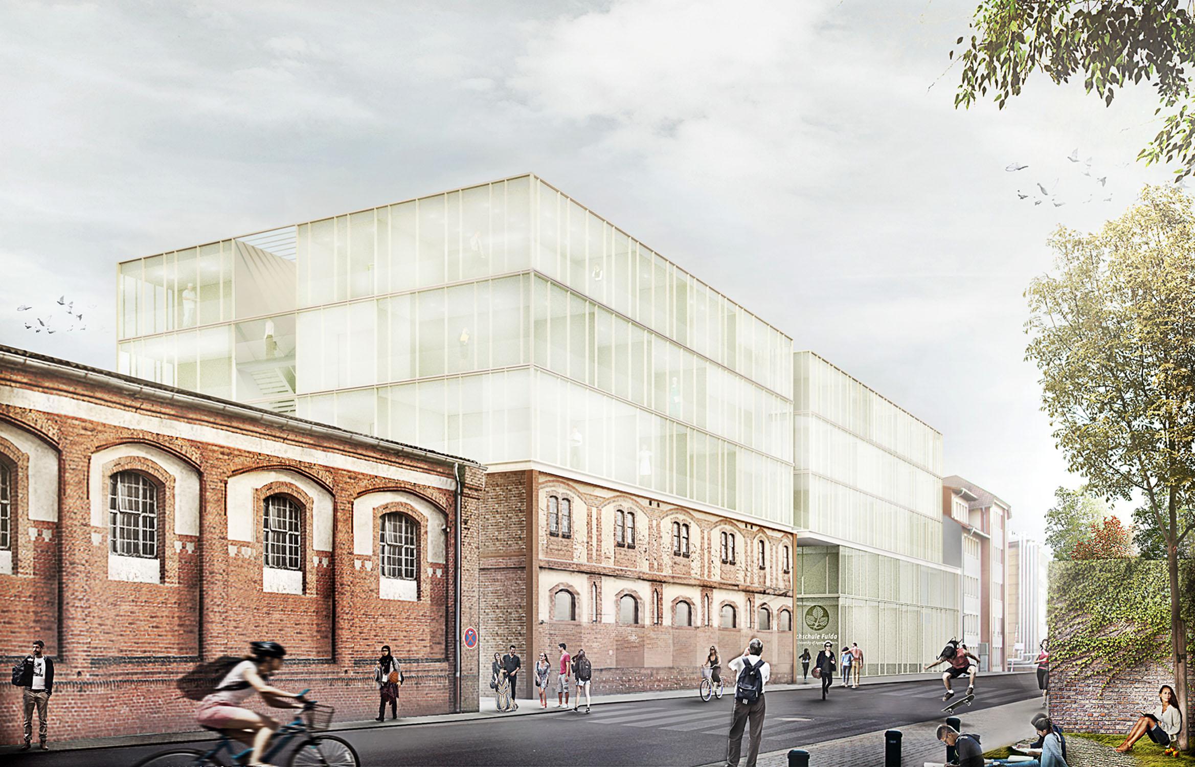 Hochschule Fulda Campuserweiterung – Anerkennung (mit Sinning Architekten)