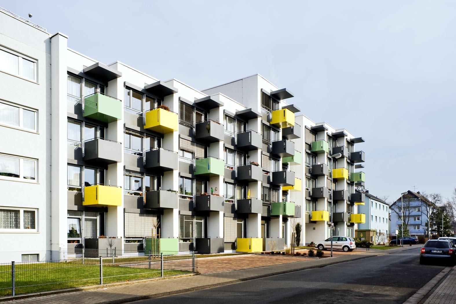Erweiterung, Umbau und Sanierung Altenwohnanlage Neu-Isenburg
