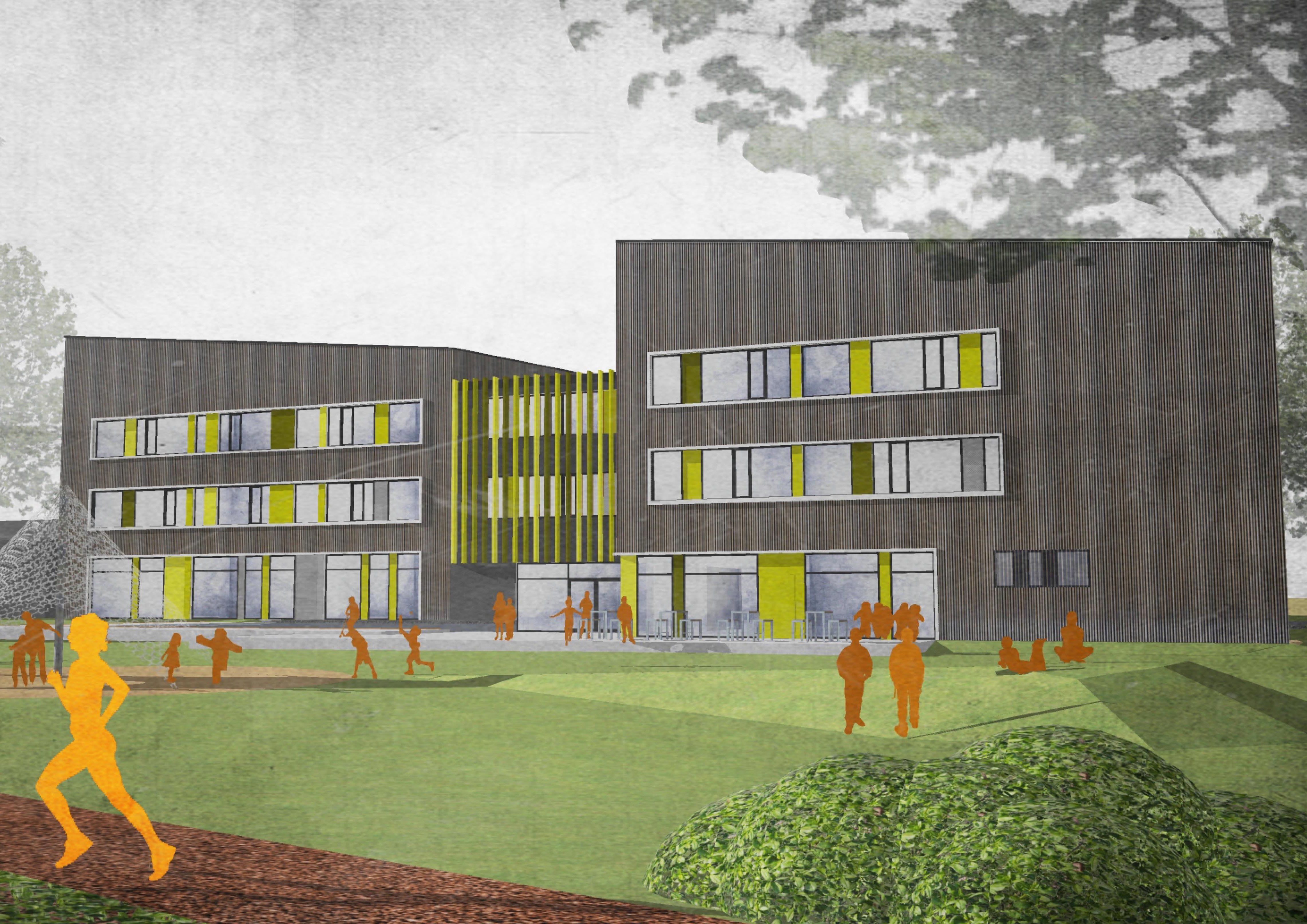 Neubau Grundschule Nauheim