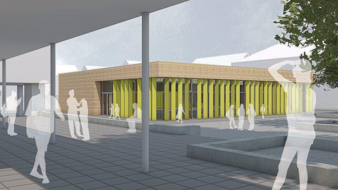 Erweiterung Brüder-Grimm-Schule Neu-Isenburg, Verpflegungseinrichtung