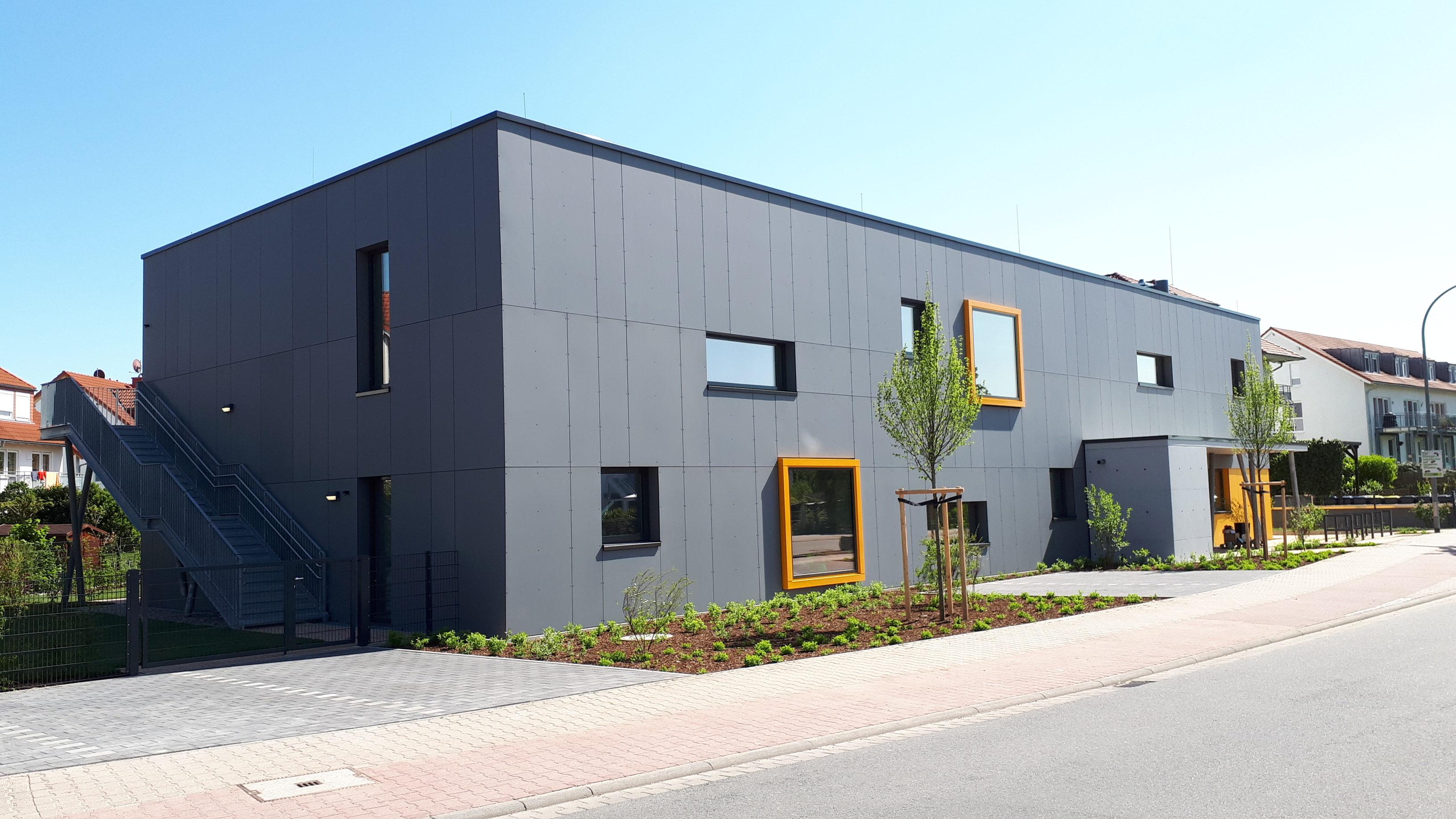 Neubau Kinderkrippe Bauschheim