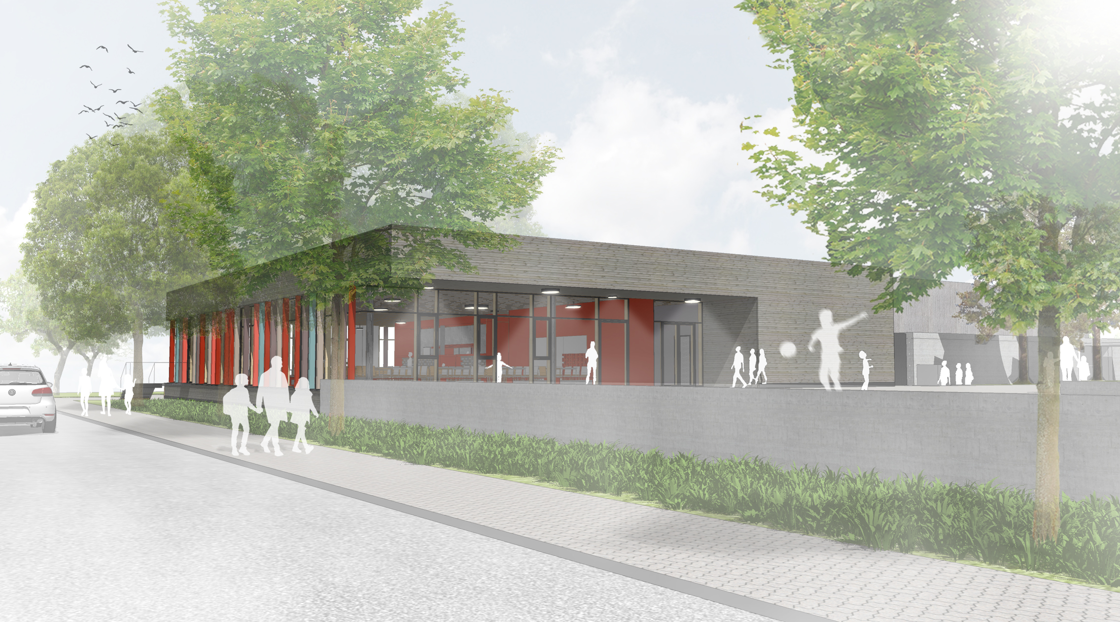 Generalsanierung und bauliche Ergänzung Grundschule Gießen-West