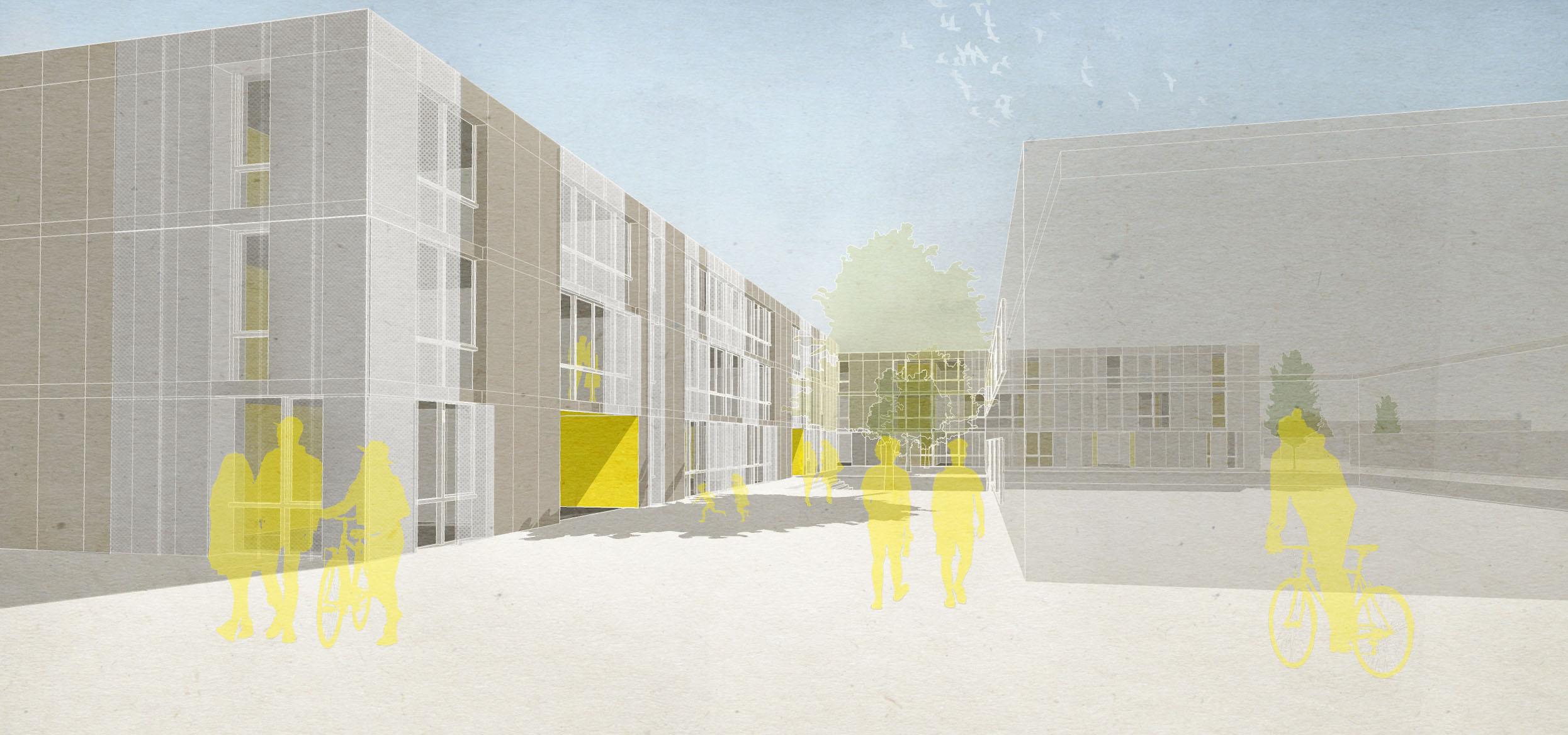 Sanierung und Erweiterung Gebäude B + C der Stadtteilschule Arheilgen