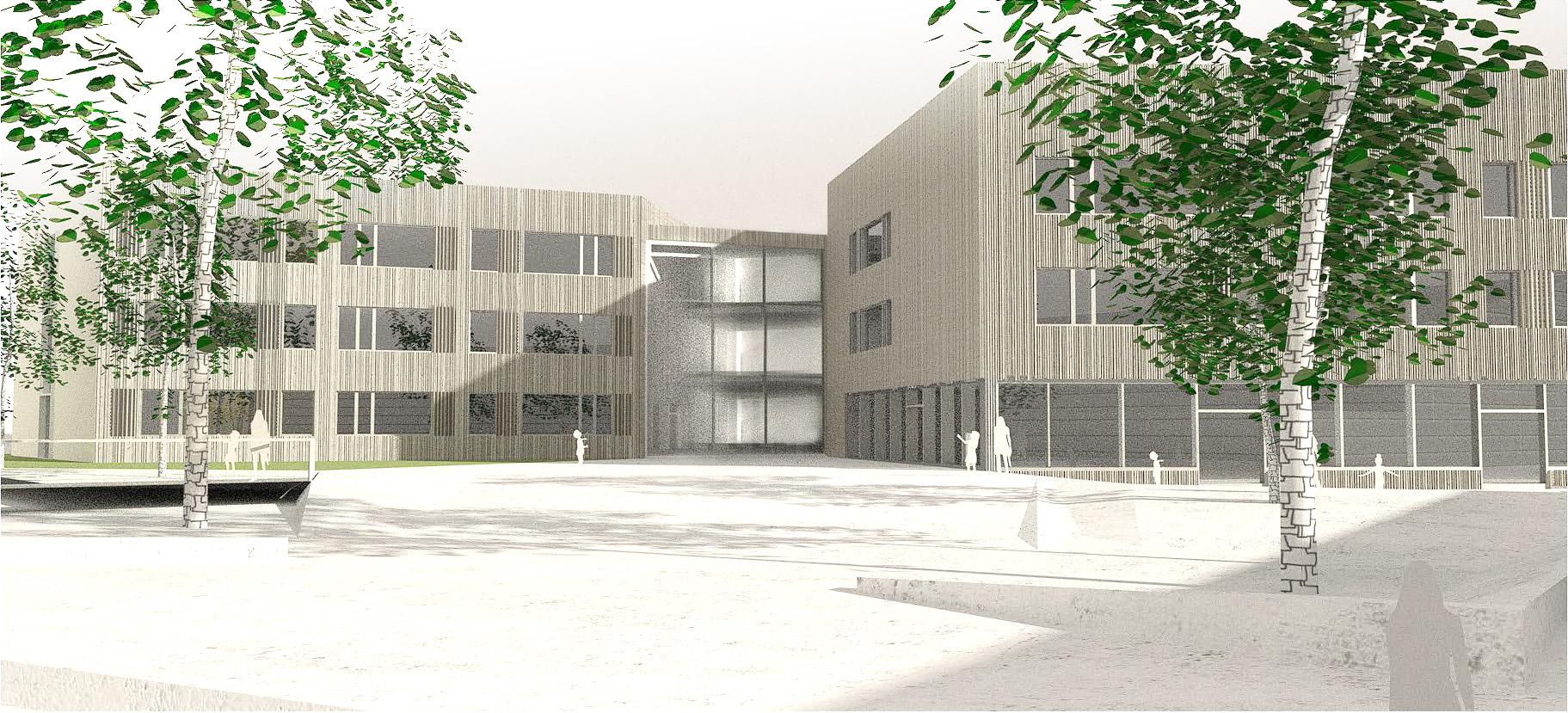 Erweiterung Sonnenblumenschule Langen